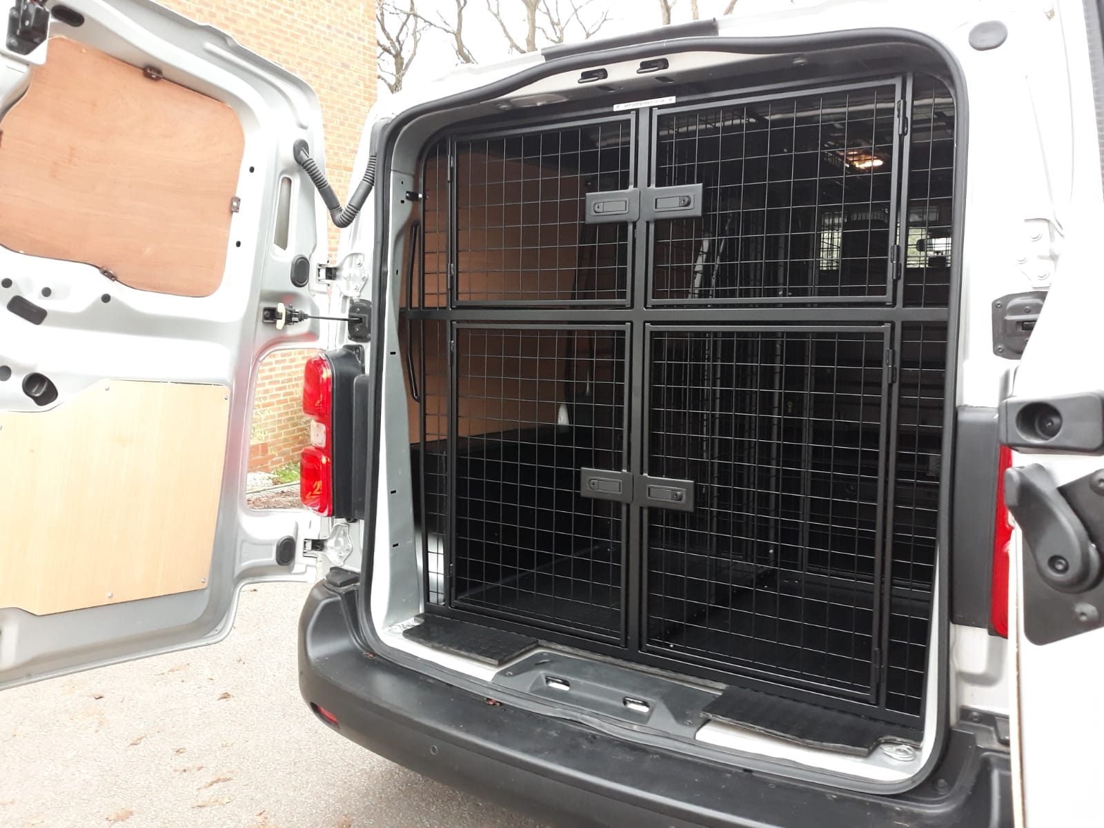 Your Paws Pet Services custom fitted van - 3