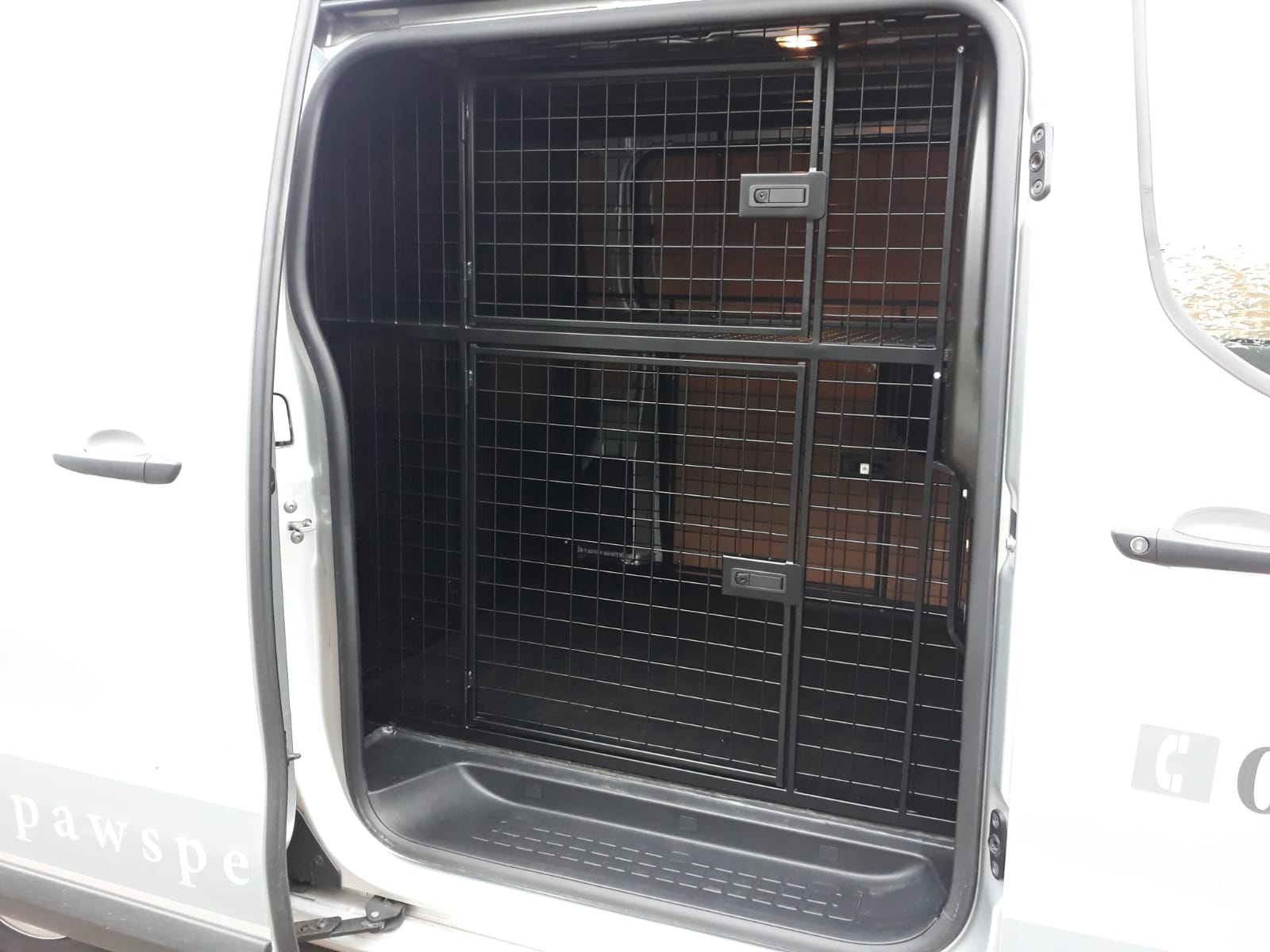 Your Paws Pet Services custom fitted van - 4